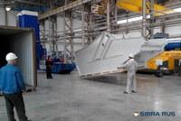 В адрес Заполярного филиала ОАО ГМК Норильский Никель отгружен грохот SIBRA 2DR 20x50/40