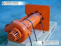 Шламовый насос вертикальный HDSP650V 1200 для перекачки высокоабразивных пульп и жидкостей из дренажных сооружений