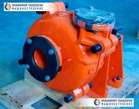 Шламовый насос HD100AM-E для перекачки сгущённых высоко абразивных пульп