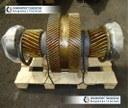 Вал промежуточный с колесом в сборе редуктора шевронного