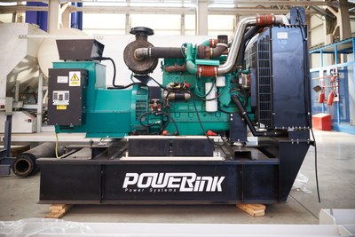 Дизель-генератор (электростанция)  Powerlink GMS/GMP250CL