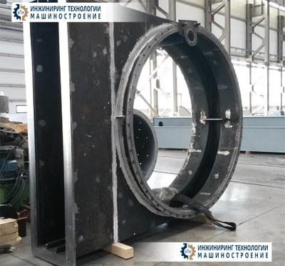 """Корпус газовой задвижки ДУ2400 Ротора Н9000"""" черт. № 01.163.00.СБ"""