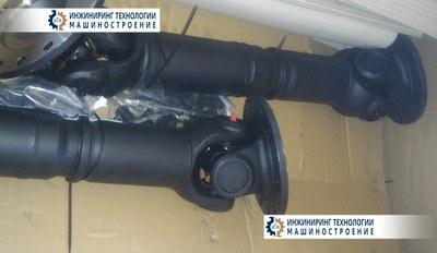 Приводной карданный вал GK5.1Z D=664 мм вибропривода грохота с крепежём