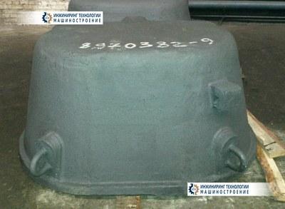 Шлаковая колода для рафинированного шлака черт. № ФЦ-55-1346